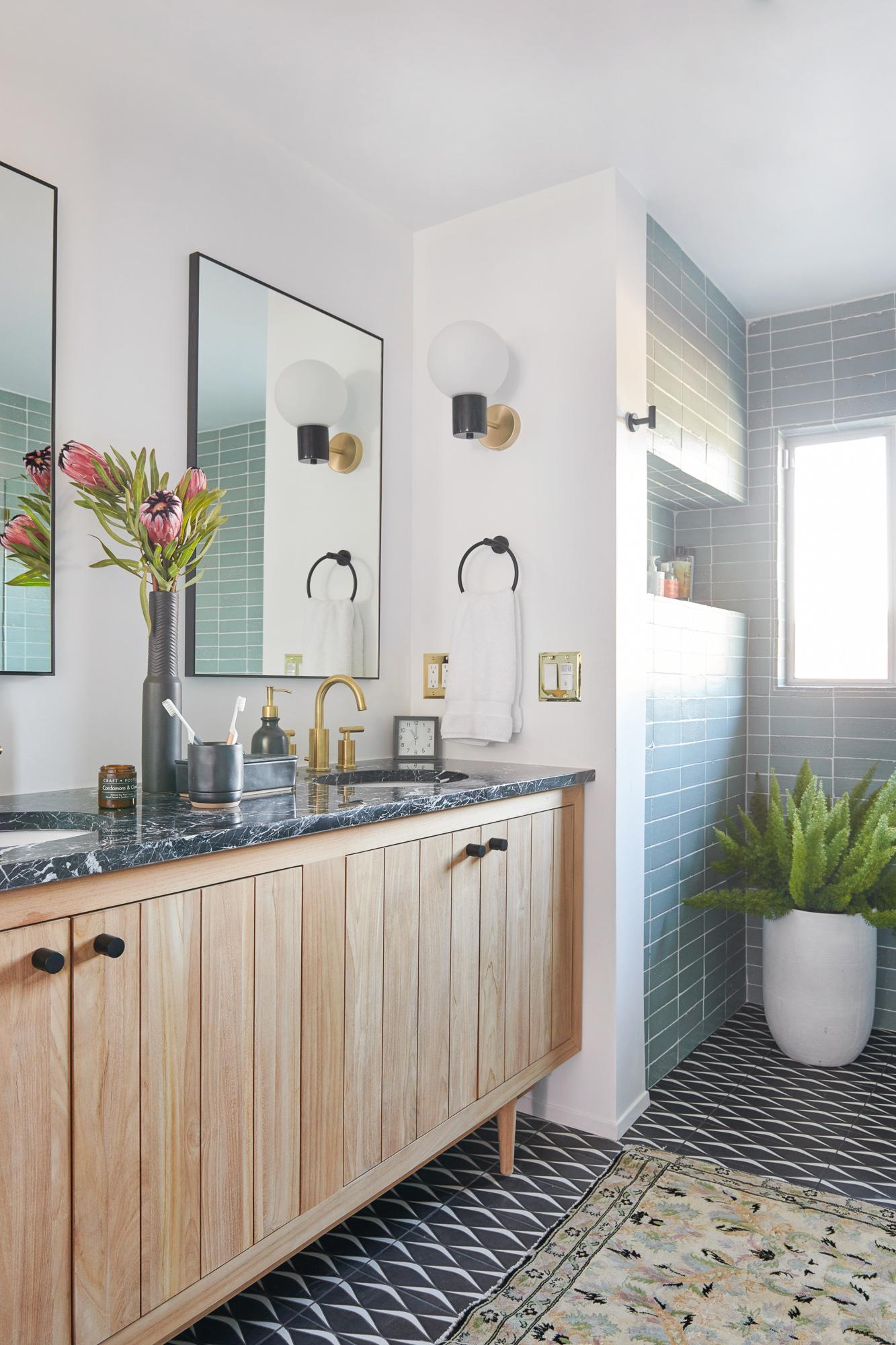 modern bathroom remodel design ideas
