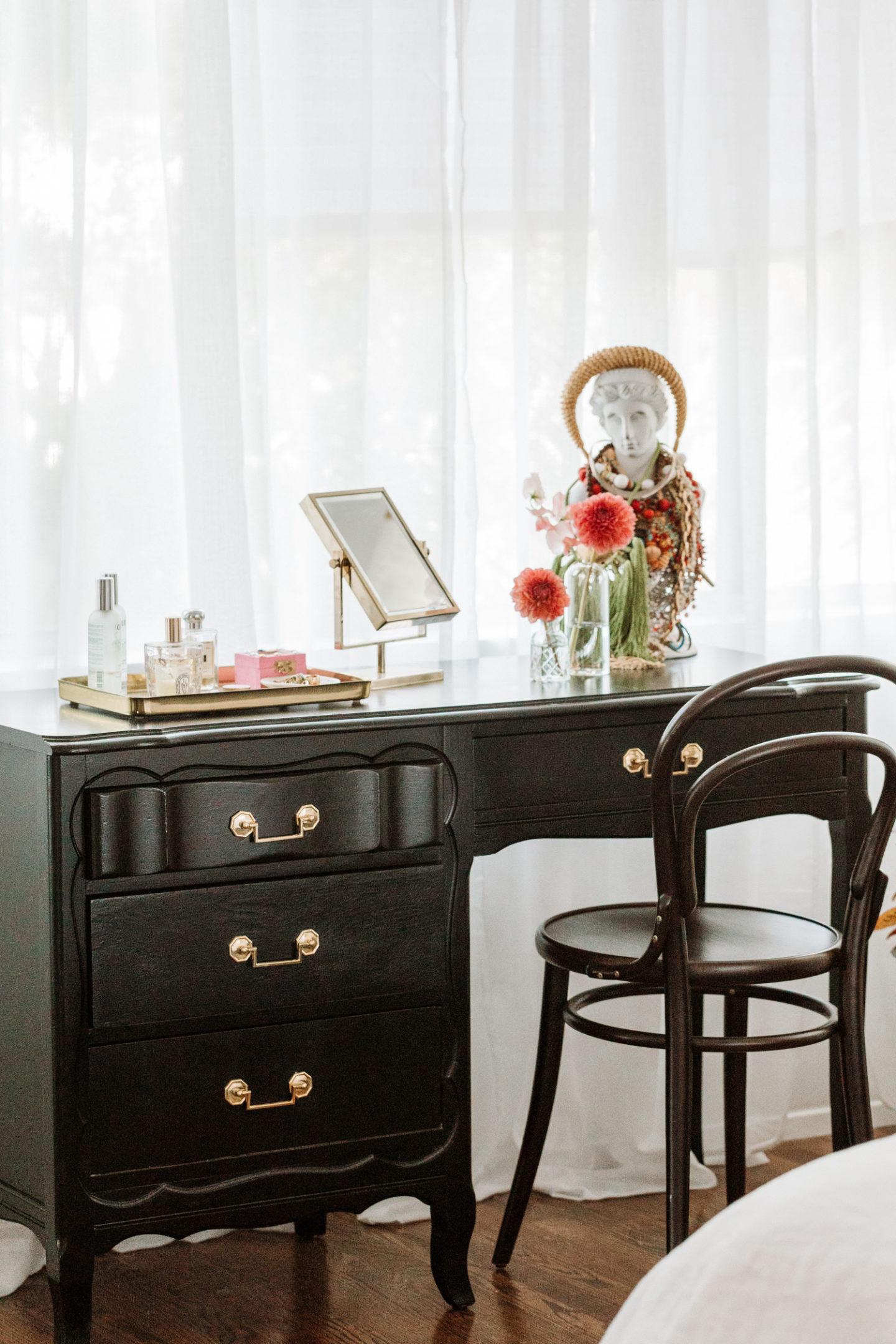 vintage vanity chinoiserie vanity desk