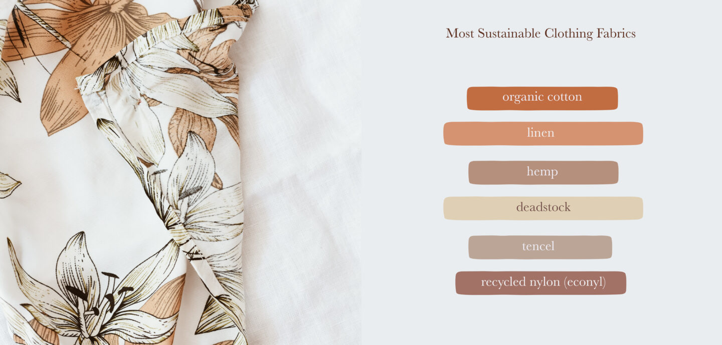 most sustainable clothing fabcris