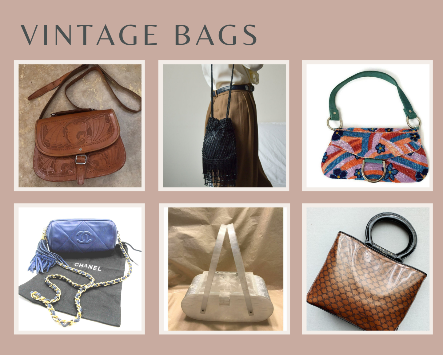 vintage bags gift guide
